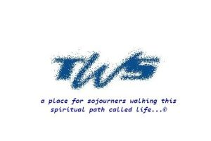 tws logo sand with phrase