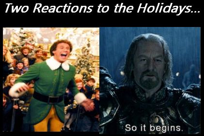 holiday reactions